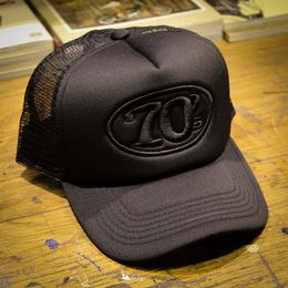 70's Trucker Cap, Black