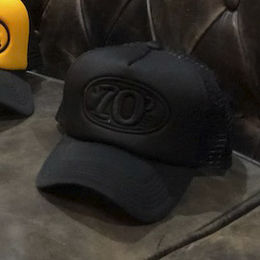 70's Trucker Cap -  Black