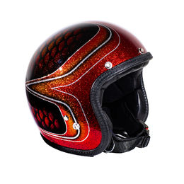 "70's Helmets Superflake ""Red fish scales"""