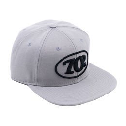Grey 70's Snap back