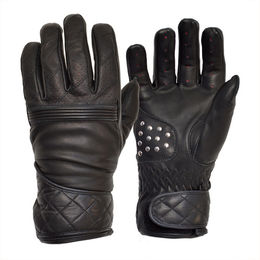 The Flat Tracker Racing Gloves, Black