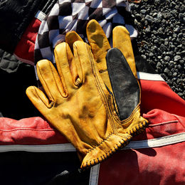"Shirt ""Pinto Shanks"" leather gloves"