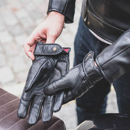 Goldtop short Café racer gloves