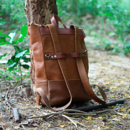 Backpack Pannier - Vintage Brown