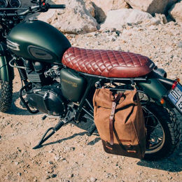 Backpack Pannier - Tobacco Brown