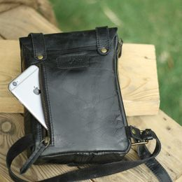 Trip Machine thigh bag - Classic Black
