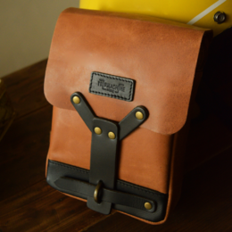 Trip Machine thigh bag - Vintage Tan