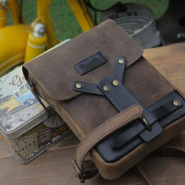 Trip Machine thigh bag - Tobacco Brown