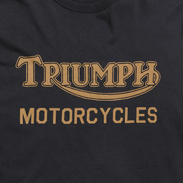 Triumph Ignition Coil logo print