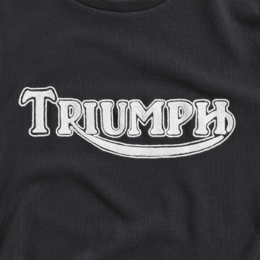 Embroided Triumph logo