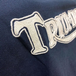Triumph Imperial embroidery
