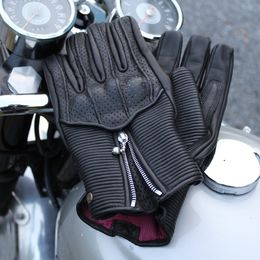 Goldtop Raptor motogloves