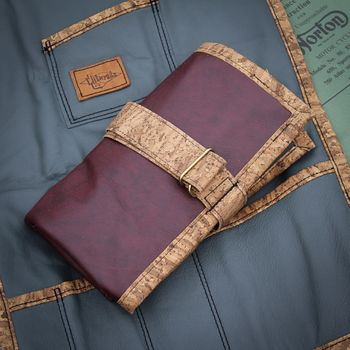 Tool Roll, Liituraita / Burgundy