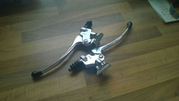 Replica Tomaselli Clutch & Brake levers (pair)
