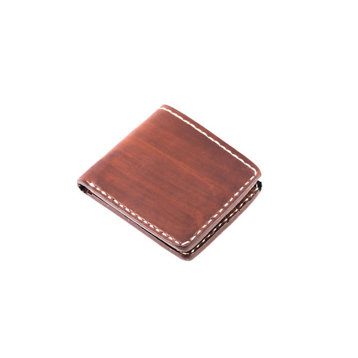 Flat Brown 70's pocket wallet