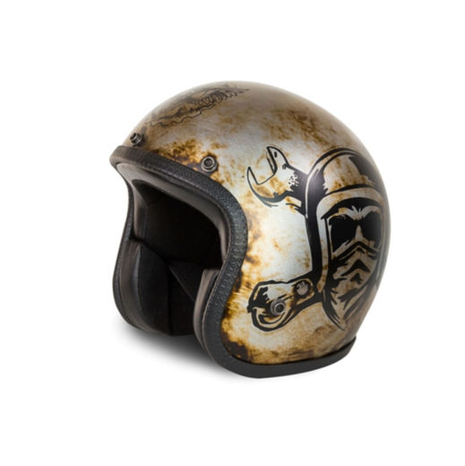 Motorcycle helmet - Eat my dust