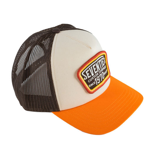 "70's ""Custom Company"" trucker hat"