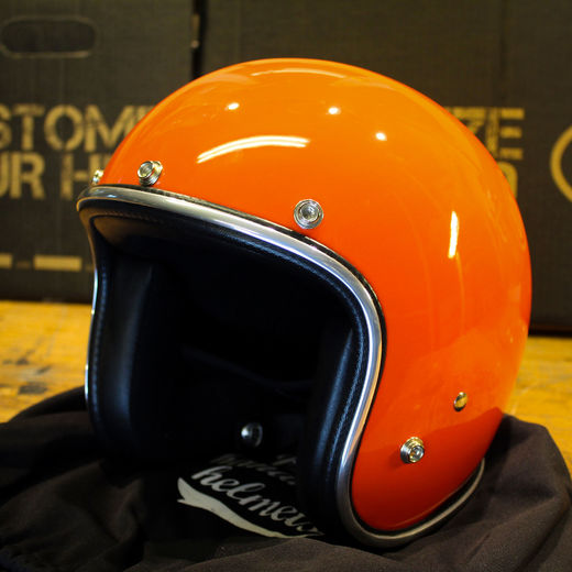 70's Helmets Orange Pastello