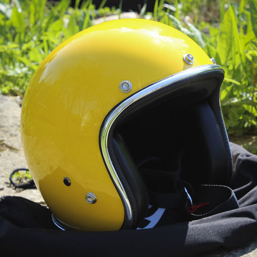 70's Helmets, Yellow