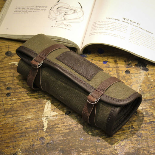 "Ton-up Gear ""TR1"" Compact Tool Roll"