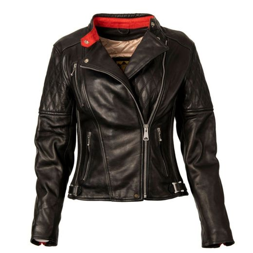 Ladies Bobber leather jacket