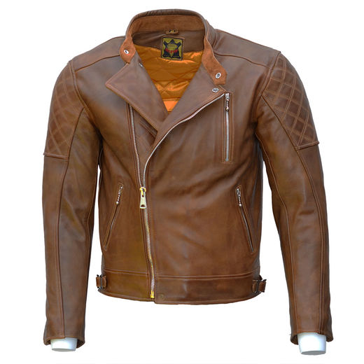 Goldtop The Bobber Jacket - Waxed Brown