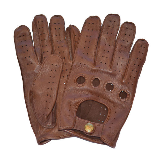 Driving gloves, Brown