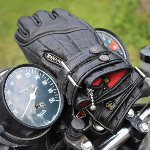 The Quilted Café Racer gloves