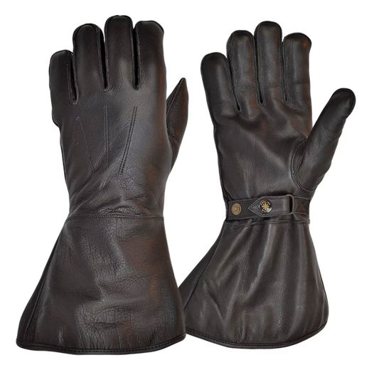 Goldtop gauntlet, black