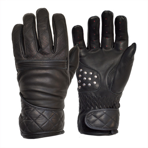 Goldtop Black Flat Tracker gloves