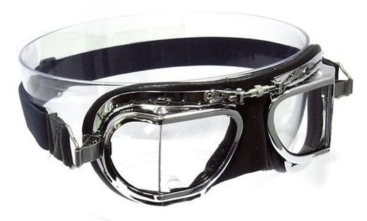 Compact motorcycle goggles, Halcyon Mk 49