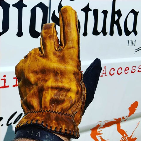 "MotoStuka ""Pinto Shanks"" Gloves"