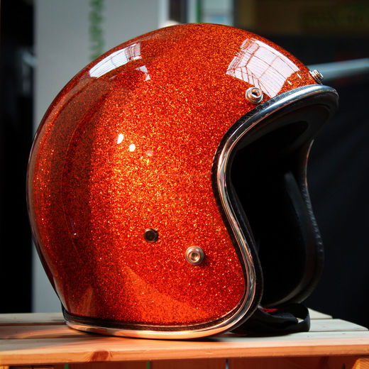 Metalflake Orange