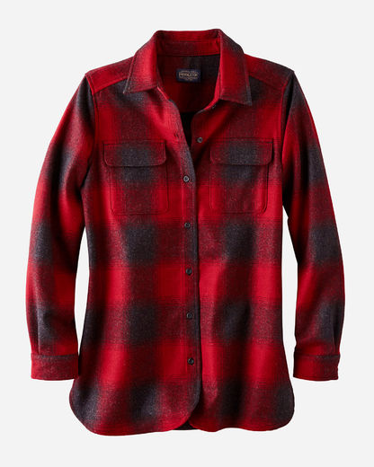 Pendleton Women's Board Shirt - Red/Black Buffalo Check