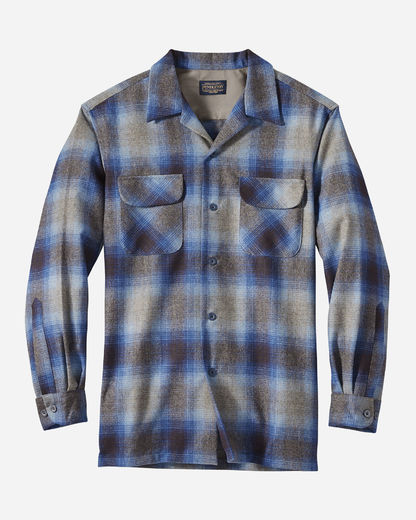Pendleton Board Shirt Taupe/Grey/Blue Ombre (32310)
