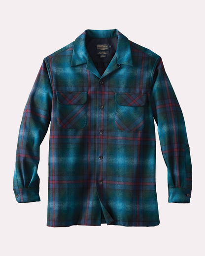 Pendleton Board Shirt - Blue Ombre