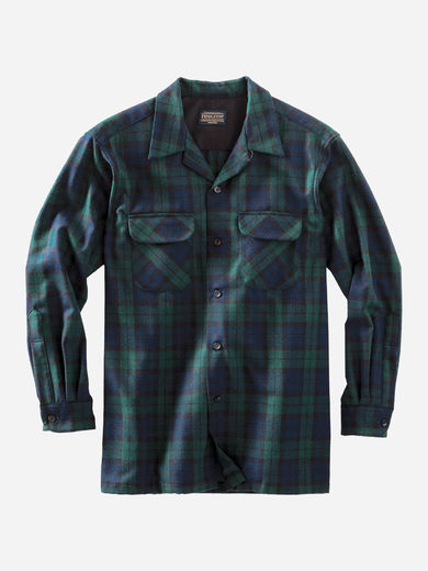 Pendleton Board Shirt - The Black Watch tartan