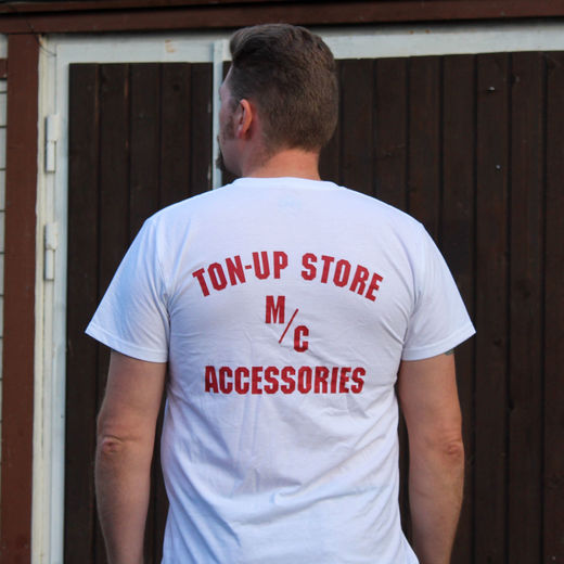 Ton-up Store M/C Accessories T-shirt
