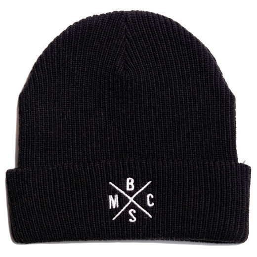 BSMC Cross beanie - Black