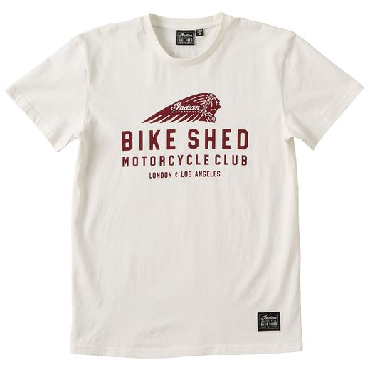BSMC x Indian Motorcycle T-shirt front