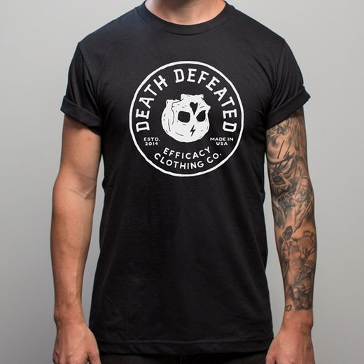 Death Defeated  tee front