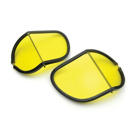 Replacement lens for Halcyon Goggles (split), Yellow